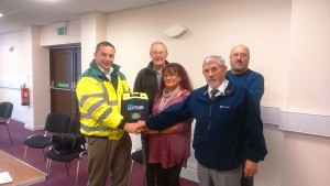 Photo defibrillator